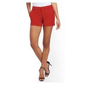 🔥 STYLUS Red Khaki Shorts